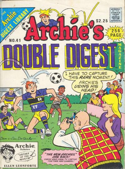 Archie's Double Digest Magazine Vol 1 41