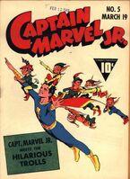 Captain Marvel, Jr. Vol 1 5
