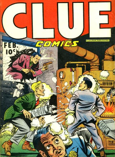 Clue Comics Vol 1 12