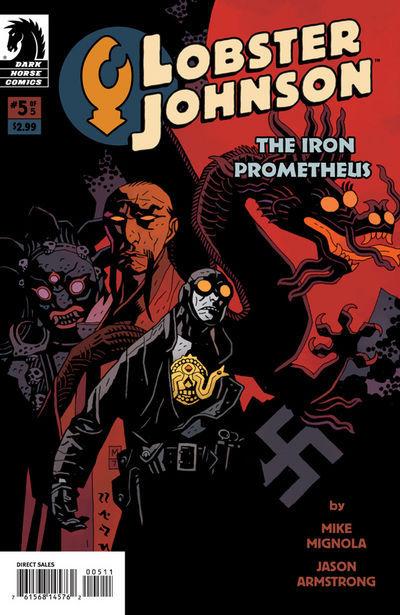 Lobster Johnson: The Iron Prometheus Vol 1 5