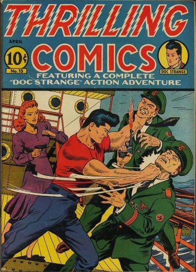 Thrilling Comics Vol 1 15