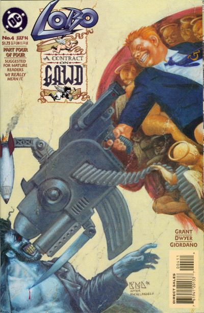 Lobo: A Contract on Gawd Vol 1 4