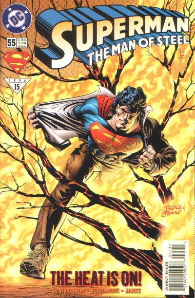 Superman: Man of Steel Vol 1 55
