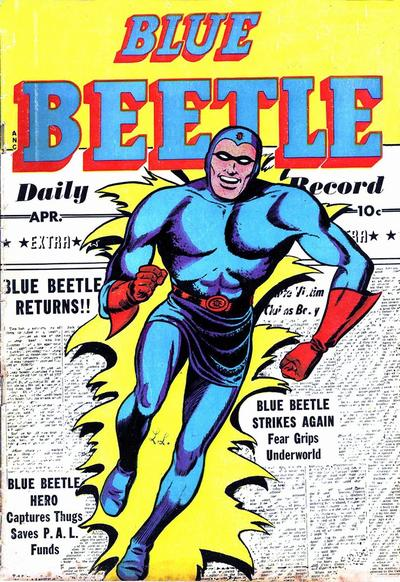 Blue Beetle (Fox) Vol 1 58