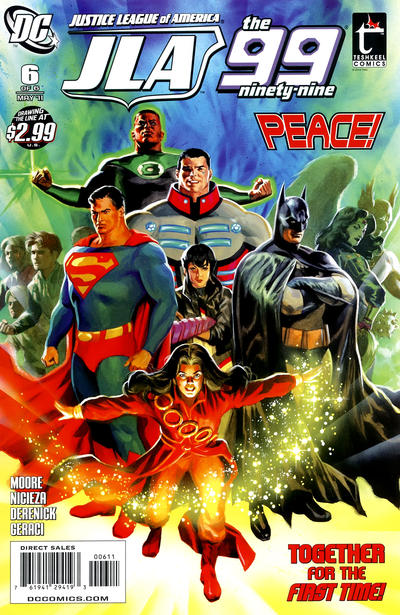 Justice League of America / the 99 Vol 1 6
