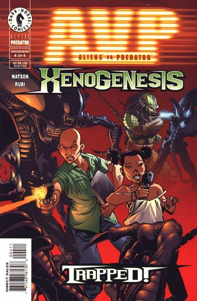 Aliens vs. Predator: Xenogenesis Vol 1 4