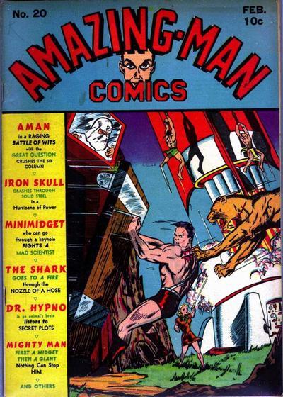 Amazing Man Comics Vol 1 20