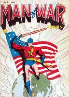Man of War Comics Vol 1 1