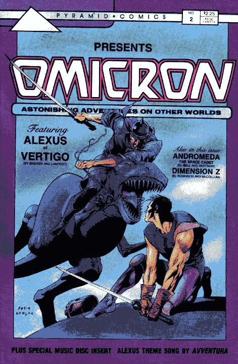 Omicron: Astonishing Adventures on Other Worlds Vol 1 2
