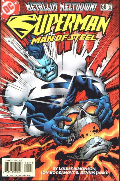 Superman: Man of Steel Vol 1 68