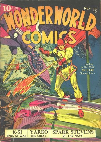 Wonderworld Comics Vol 1 9