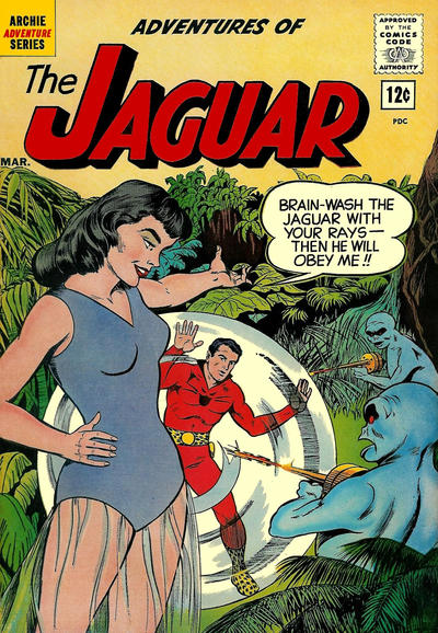 Adventures of the Jaguar Vol 1 5