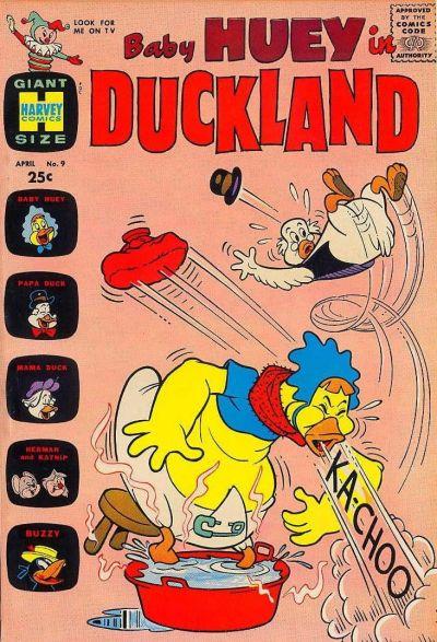 Baby Huey in Duckland Vol 1 9