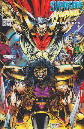 Cover for Supreme #30 (1995)