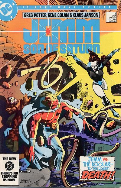 Jemm, Son of Saturn Vol 1 2