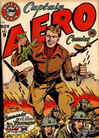 Captain Aero Comics Vol 1 9