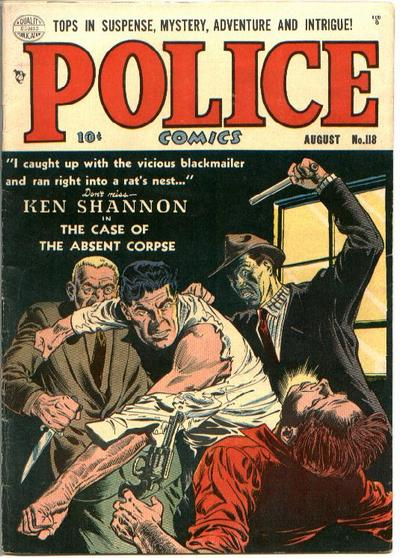 Police Comics Vol 1 118