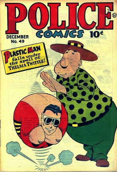 Police Comics Vol 1 49
