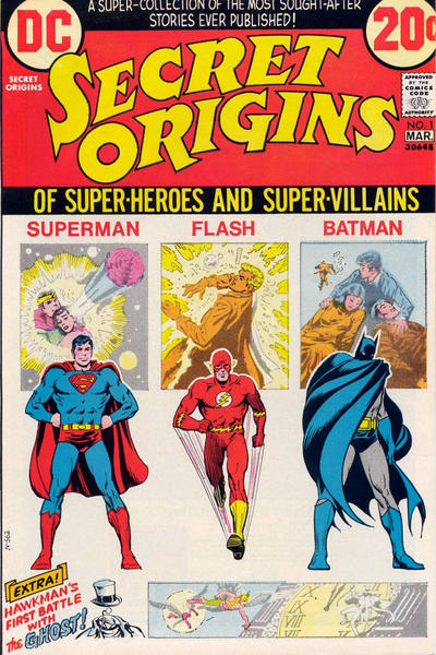 Secret Origins Vol 1
