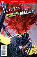 Victorian Undead Sherlock Holmes vs. Dracula Vol 1 2