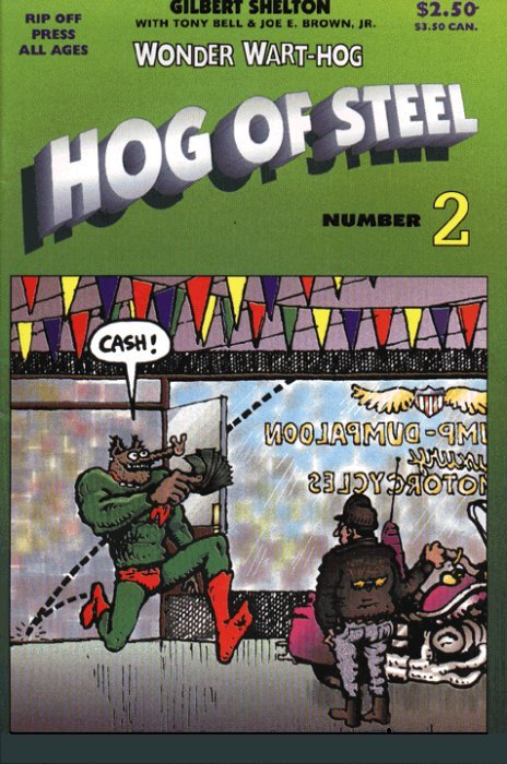 Wonder WartHog: Hog of Steel Vol 1 2