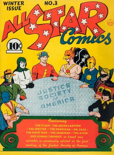 All-Star Comics/Covers