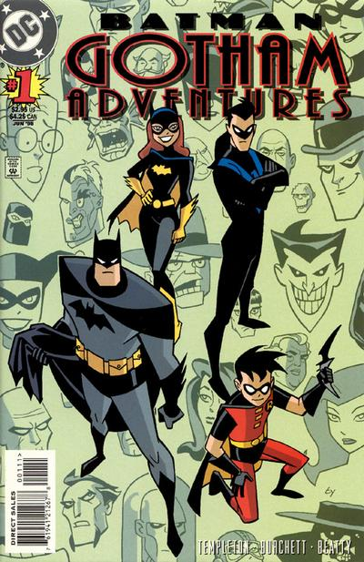 Batman: Gotham Adventures/Covers