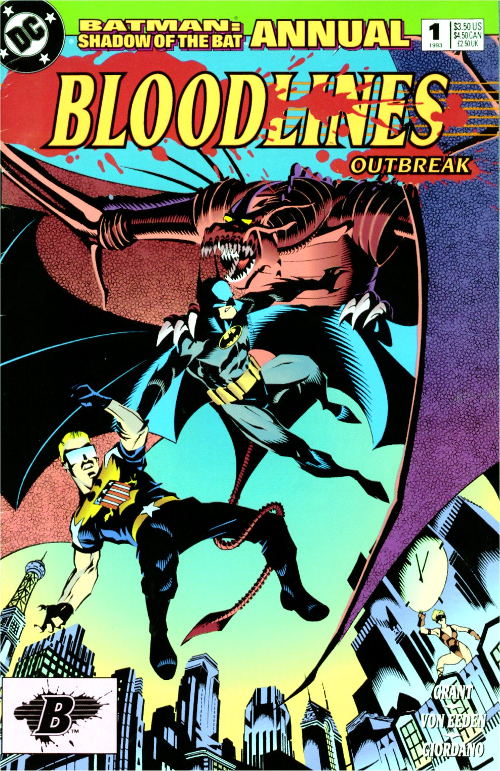Batman: Shadow of the Bat Annual Vol 1 1