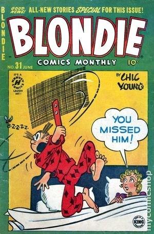 Blondie Comics Vol 1 31