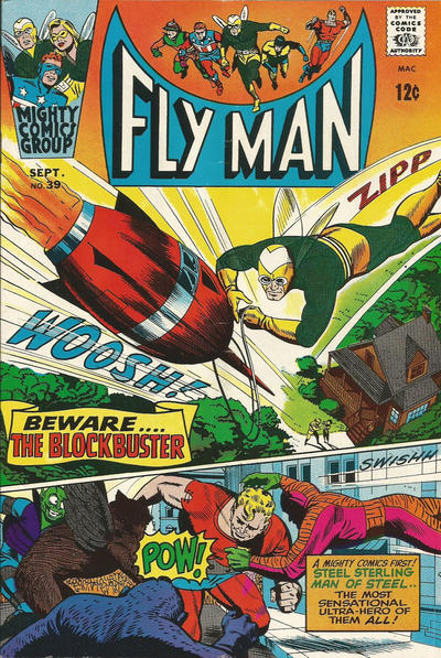 Fly Man Vol 1 39