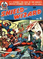 Shield-Wizard Comics Vol 1 8