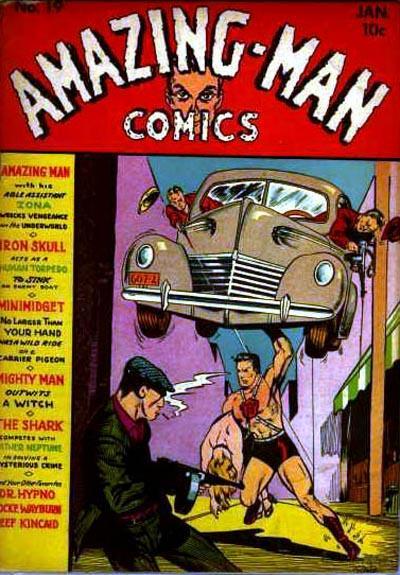Amazing Man Comics Vol 1 19