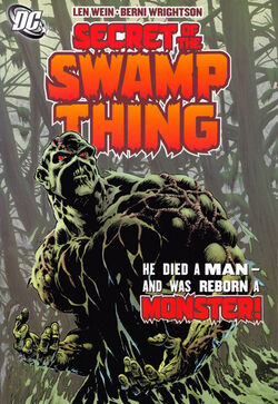 Cover for the Secret of the Swamp Thing Vol 1 1 Trade Paperback
