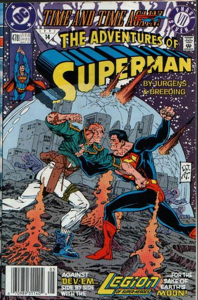 Adventures of Superman Vol 1 478