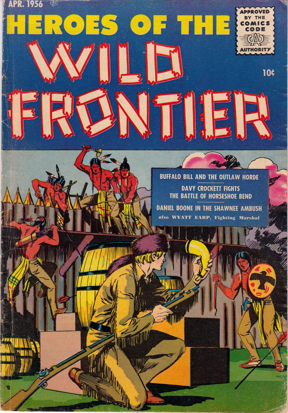 Heroes of the Wild Frontier Vol 1 2