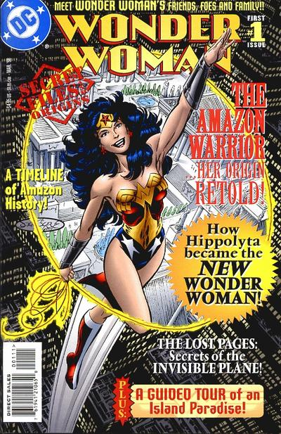 Wonder Woman Secret Files and Origins Vol 1 1
