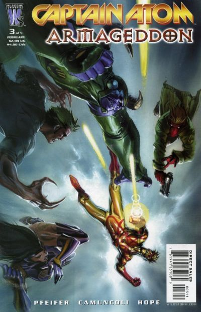 Captain Atom: Armageddon Vol 1 3