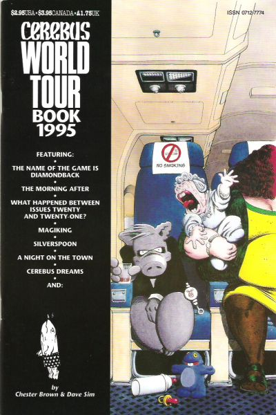 Cerebus World Tour Book Vol 1 1