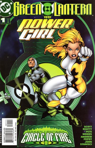 Green Lantern/Power Girl Vol 1 1