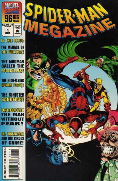 Spider-Man Megazine Vol 1 1