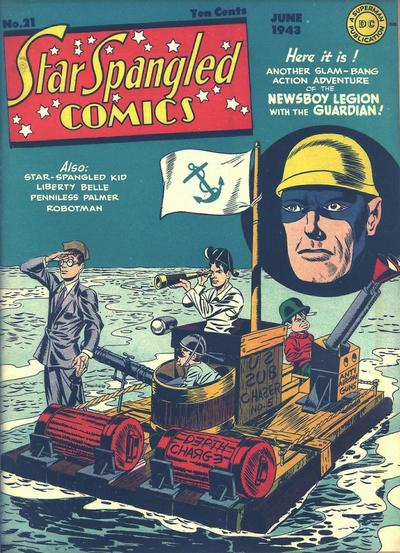 Star-Spangled Comics Vol 1 21