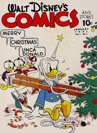 Walt Disney's Comics and Stories Vol 1 4