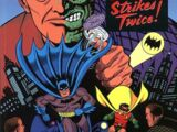 Batman: Two-Face Strikes Twice/Covers