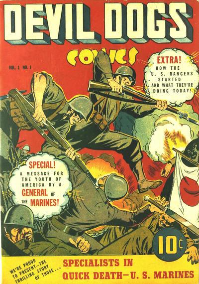 Devil Dogs Comics Vol 1 1