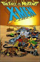 X-Men Fall of the Mutants Omnibus Vol 1 1