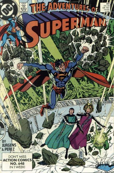Adventures of Superman Vol 1 461