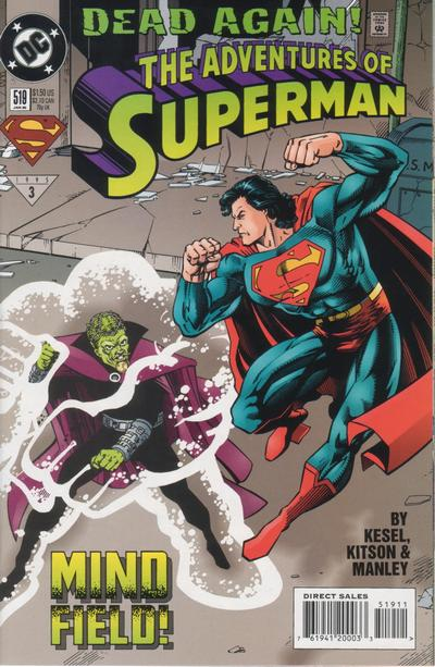 Adventures of Superman Vol 1 519