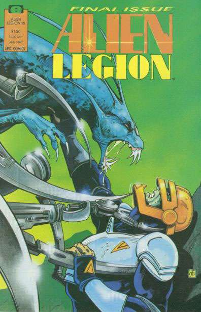 Alien Legion Vol 2 18