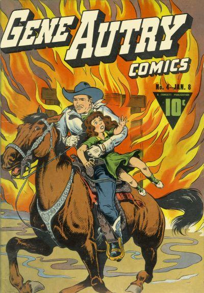 Gene Autry Comics Vol 1 4