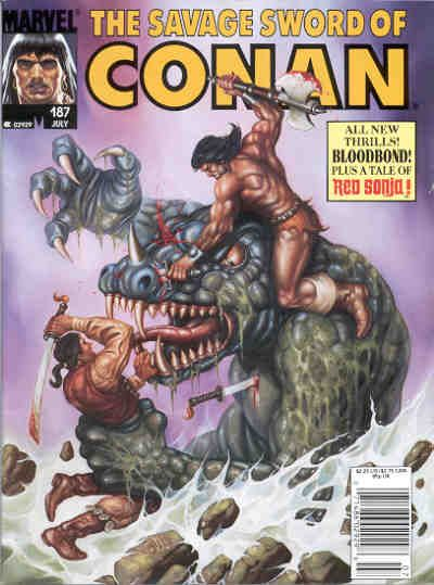 Savage Sword of Conan Vol 1 187
